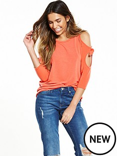 river-island-coral-tigerlily-jumper
