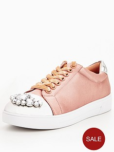v-by-very-jewel-satin-trainer-pink
