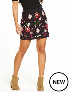 v-by-very-embroidered-mini-skirt