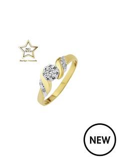 starlight-9ct-gold-34ct-look-10-point-diamond-illusion-diamond-solitaire-diamond-twist-ring-with-stone-set-shoulders