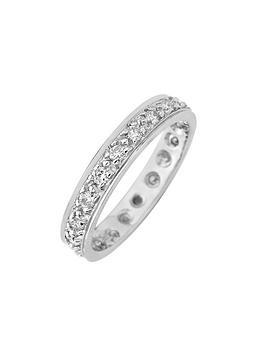 Love DIAMOND Love Diamond 9Ct Gold 50 Points Diamond Full Eternity Ring Picture