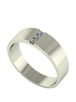 Love DIAMOND Love Diamond 9Ct Gold Diamond Set Band Ring Picture