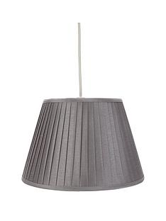 Latest offers lamp shades lighting home garden www knife pleat easy fit pendant aloadofball Image collections