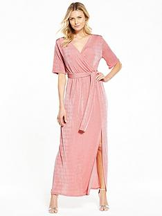 v-by-very-wrap-over-slinky-maxi-dress