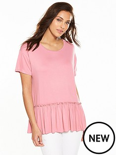 v-by-very-frill-hem-t-shirt