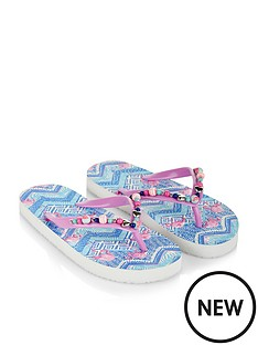 monsoon-tribal-flamingo-beaded-flip-flop