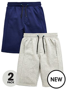 v-by-very-2-pk-panel-sweat-shorts-light-grey