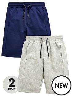 v-by-very-2-pk-panel-sweat-shorts-light-grey