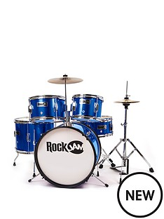 rockjam-rj105-5-piece-junior-drum-set
