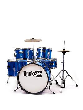 RockJam Rockjam Rj105 5-Piece Junior Drum Set Picture