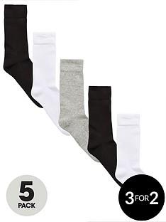 v-by-very-5-pk-sports-sock