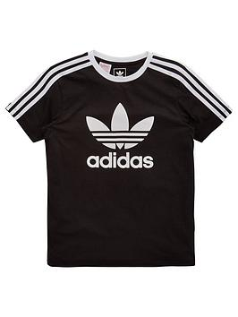 Adidas Originals Adidas Originals Older Girls 3 Stripe Tee