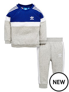 adidas-originals-adidas-originals-baby-boy-trefoil-fleece-crew-suit