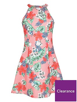 river-island-girls-tropical-print-fit-and-flare-dress