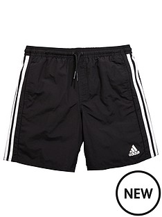 adidas-older-boys-3-stripe-swim-short