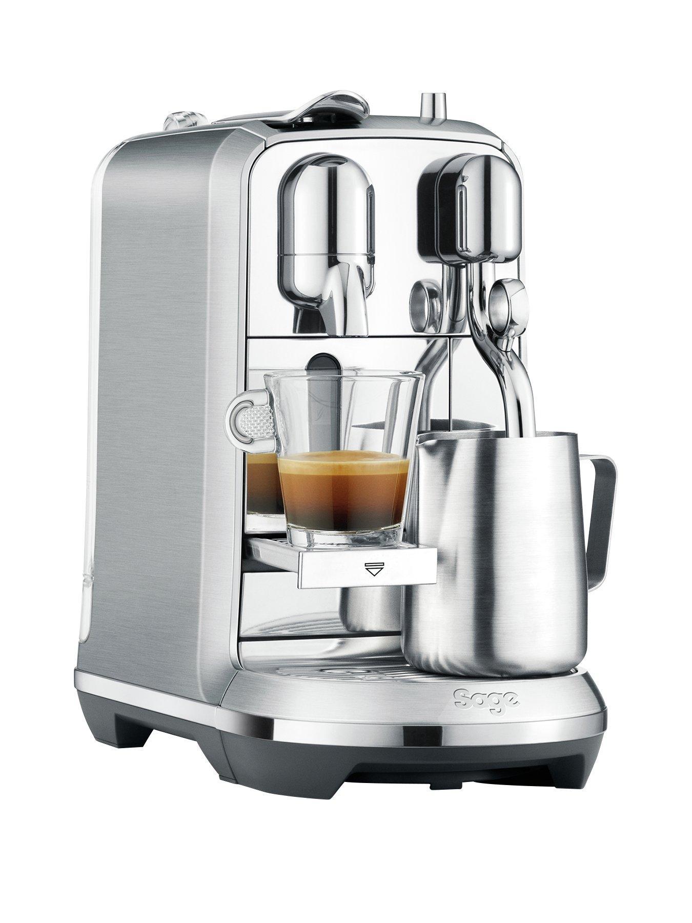 Nespresso The Creatista Plus Coffee Machine By Sage   Stainless Steel Design Inspirations