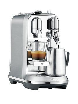 Nespresso The Creatista Plus Coffee Machine By Sage  Stainless Steel