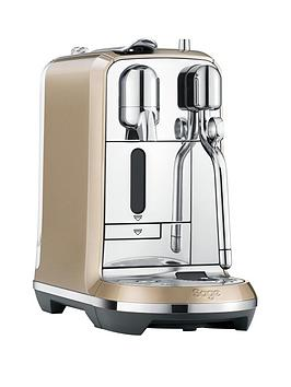 Nespresso The Creatista Coffee Machine By Sage  Royal Champagne