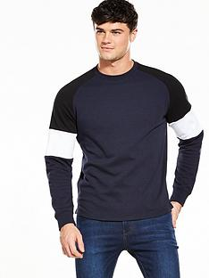 v-by-very-mens-crew-neck-panelled-sweat-topnbsp