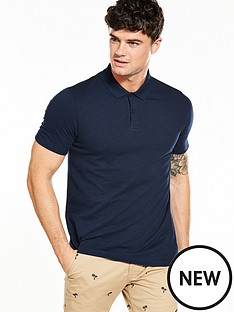 v-by-very-mens-short-sleeved-slubnbsppolo-shirtnbsp
