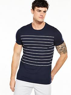 v-by-very-mens-short-sleeve-striped-t-shirt