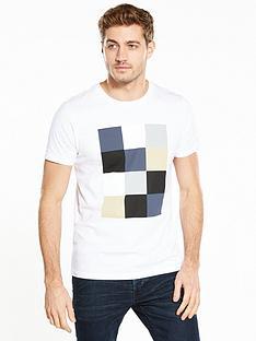 v-by-very-ss-square-print-tee