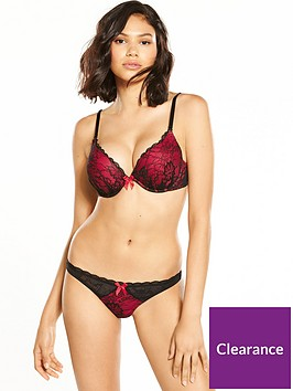 ann-summers-ex-boost-plunge-bra-redblack