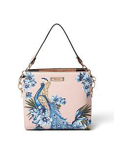 river-island-river-island-mini-peacock-print-mutliway-bag