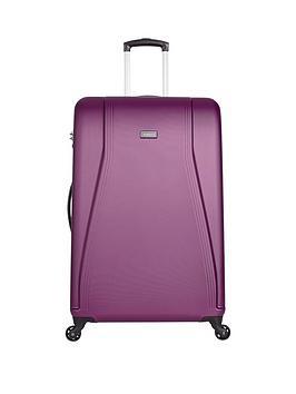 Antler Fitzroy 4Wheel Large Spinner Case  Purple