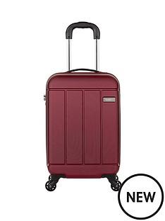 antler-pluto-56cm-4-wheel-spinner-cabin-case-red