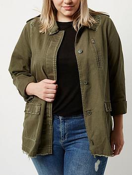 Ri Plus Khaki Army Jacket