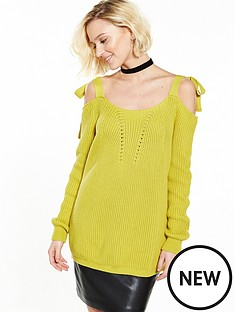 river-island-river-island-long-sleeve-tie-shoulder-top