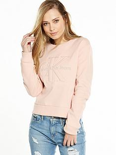 calvin-klein-jeans-harper-long-sleeve-top-peachy-keen