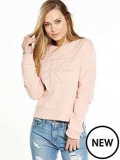 calvin-klein-jeans-harper-long-sleeve-top-peachy-keen