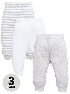 mini-v-by-very-baby-unisex-rib-and-stripe-joggers-3-pack