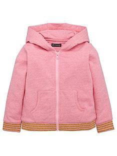 mini-v-by-very-girls-pink-marl-stripe-rib-hoody