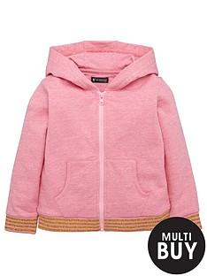 mini-v-by-very-girls-pink-marl-stripe-rib-hoody