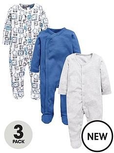 mini-v-by-very-baby-boys-3pk-sleepsuits