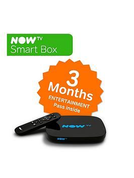 Now Tv Smart Box With 3Month Entertainment Pass