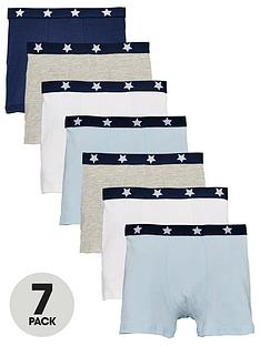 mini-v-by-very-boys-7-pack-elasticated-trunks