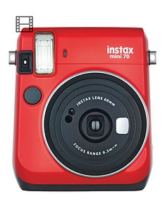 fujifilm-instax-instax-mini-70-instant-cameranbspwith-10-or-30-pack-of-paper-red