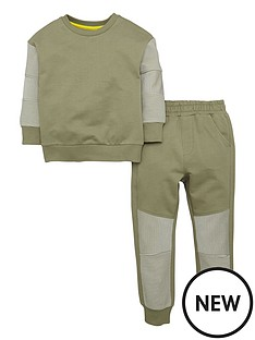 mini-v-by-very-boys-horizontal-ribbed-sweat-top-and-joggers-set-2-piece
