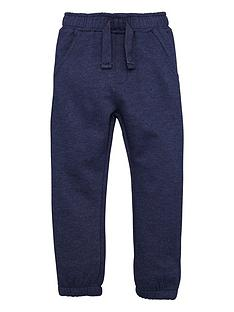 mini-v-by-very-boys-navy-marl-jogger