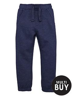 mini-v-by-very-boys-navy-marl-jogger