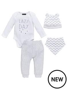 mini-v-by-very-baby-unisex-4pc-slogan-hat-bib-bodysuit-amp-jogger-set