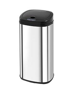 morphy-richards-chromanbspsquare-sensor-bin-ndash-stainless-steel