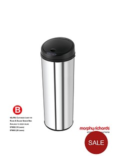 morphy-richards-chroma-50l-round-sensor-bin-stainless-steel