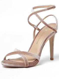 river-island-river-island-sunny-velvet-barely-there-heeled-sandal