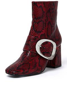 river-island-river-island-red-croc-buckle-block-heel-boot