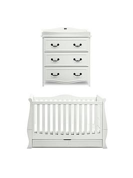 Silver Cross Silver Cross Windsor Cot Bed &Amp Dresser